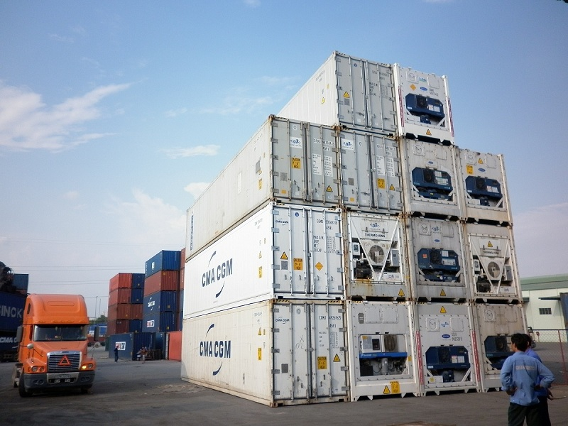 Container lạnh 45 feet