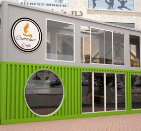 Container cafe đẹp
