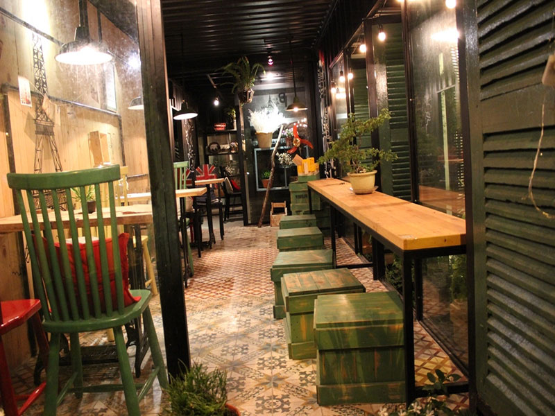 Container Cafe tại TPHCM